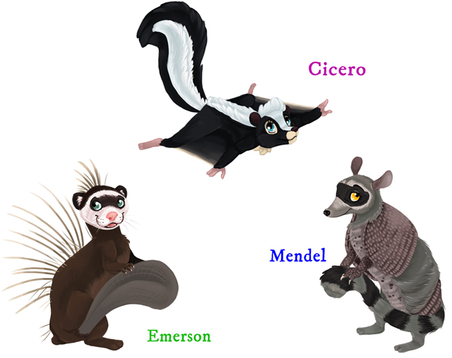Emerson Cicero Mendel Mixlings